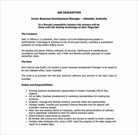 Business Analyst Roles And Responsibilities Resume Best Of Business Description Example My Board In 2020 Business Analyst Job Resume Samples Job Description Template
