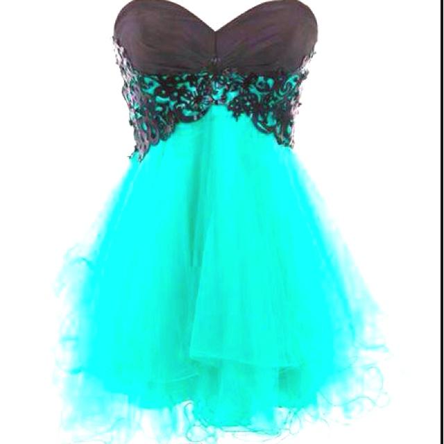 Big colorful dress for dances