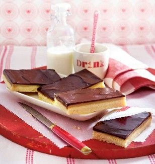 schoko toffee shortbread rezept backblech mehl zucker. Black Bedroom Furniture Sets. Home Design Ideas