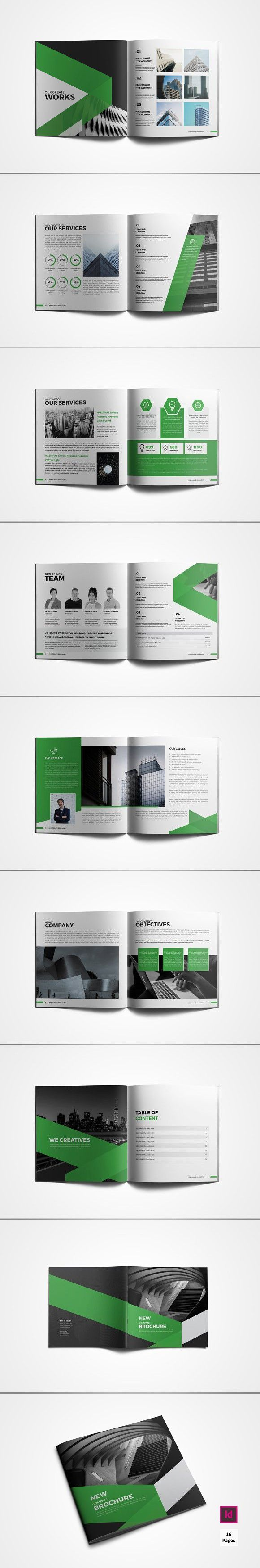 Square Company Profile Brochure
