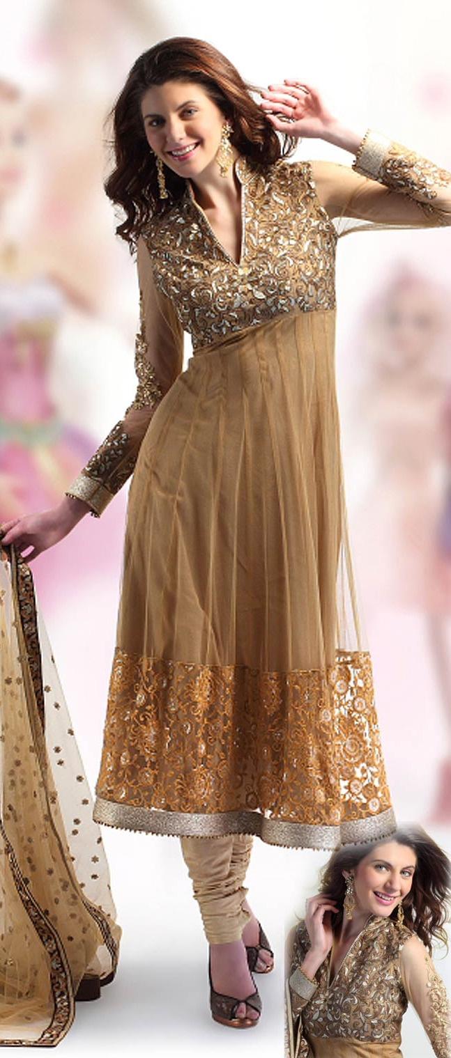 #Golden #Yellow Churidaar Kameez with Dupatta @ $102.50