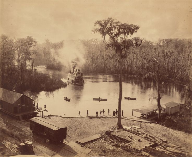 "George Barker's ""Silver Springs, Florida,"" circa 1886. Credit National Gallery of Art, Washington"