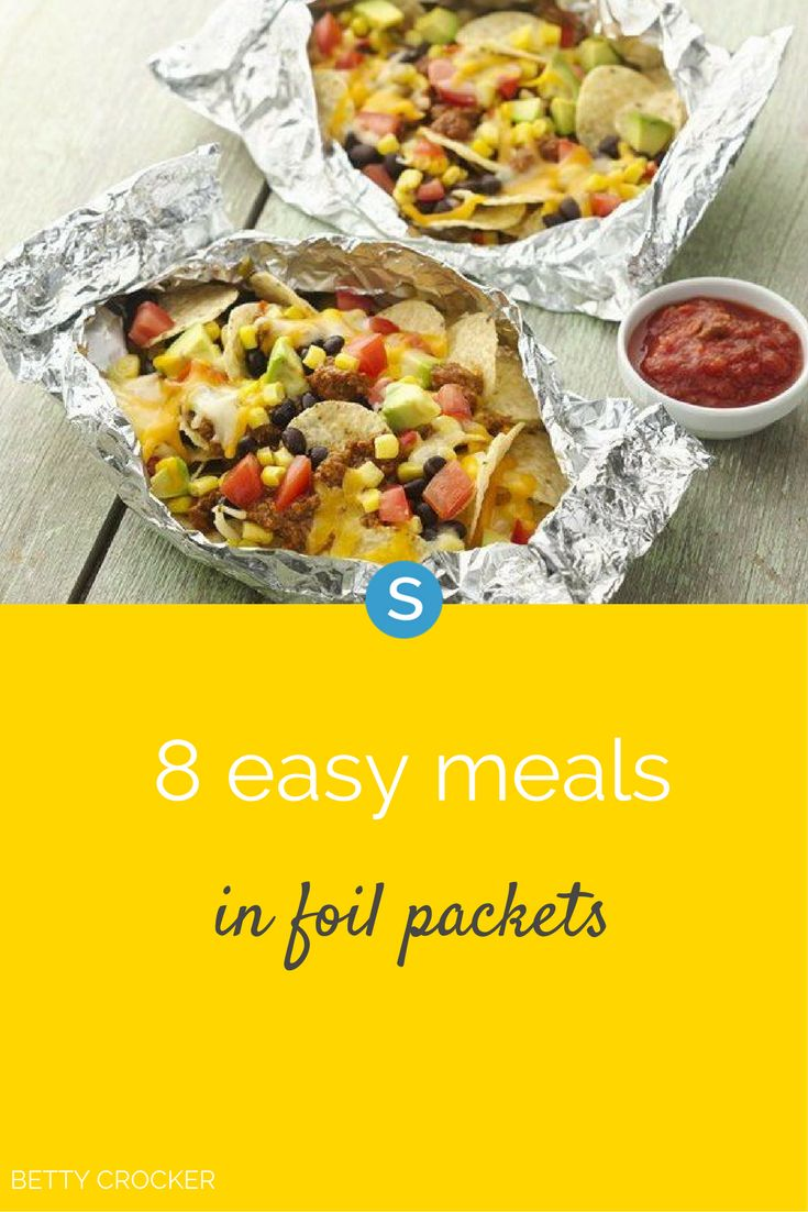 429 best food and recipes images on pinterest bricolage cocktail 8 super easy meals you can make in foil packets forumfinder Gallery