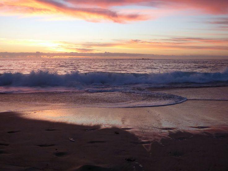 Sunrise at Coogee Sydney. #sunrise #sydney #beach