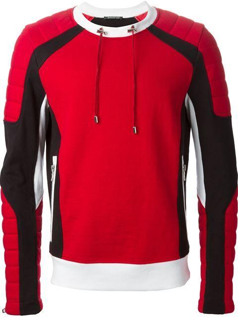 Balmain Sweat Colour Block - Vitkac - Farfetch.com