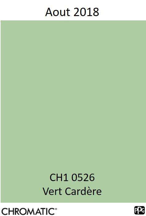 Finalisez Votre Projet Peinture Avec Le Vert Cardère En Vous