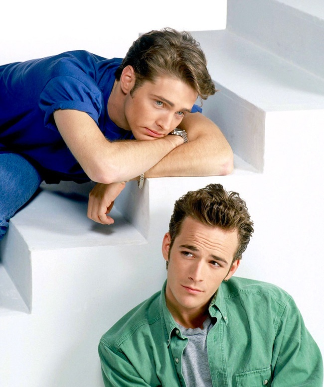 Jason Priestley & Luke Perry