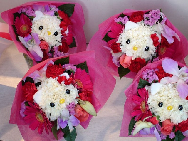 Hello Kitty Flower arrangements!