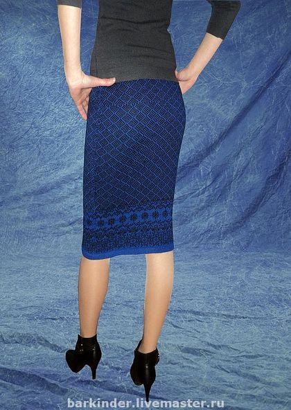 Вязаная юбка карандаш схема крючком