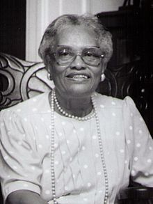 Dovey Johnson Roundtree.  This woman is amazing.  Civil Rights Activist, Ordained minister, and attorney.