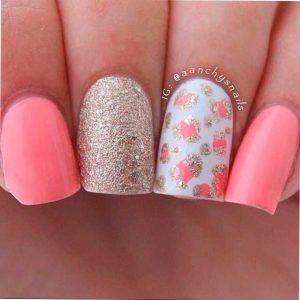Las maravillosas y elegantes uñas color pastel - NailArt