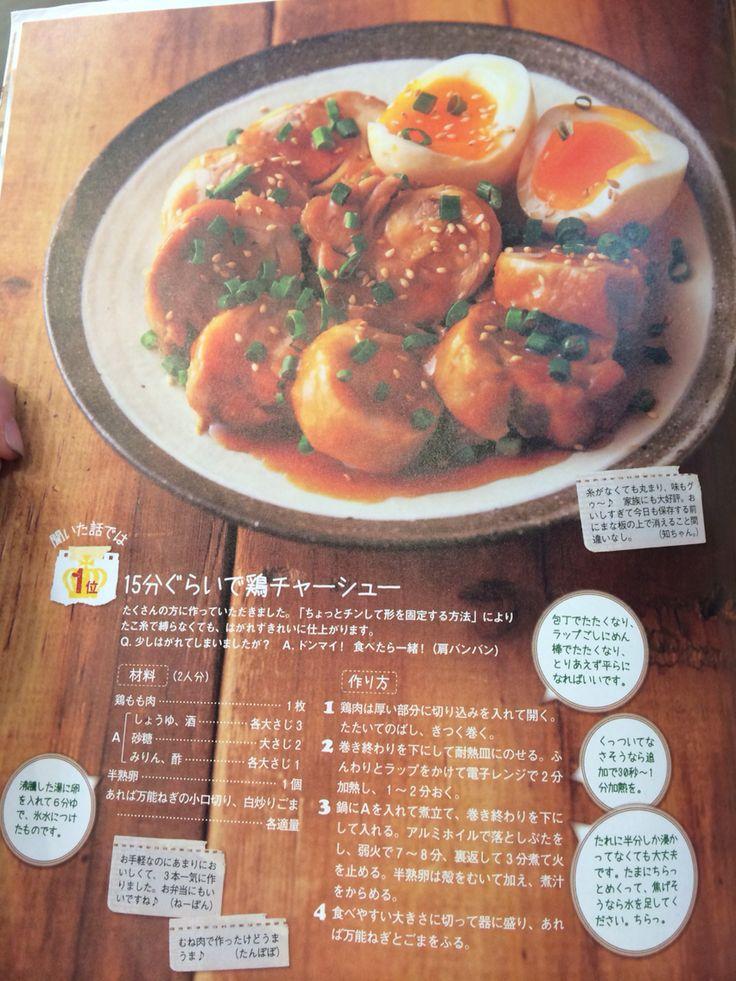 簡単15分鶏チャーシュー