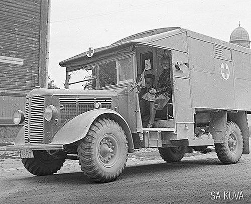 Bedford ML Ambulance