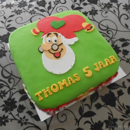 Kabouter Plop taart