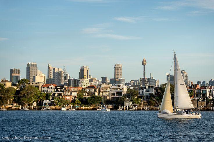 Австралия. Голубые горы и вечерний Сидней - Страница Виртуальных Путешественников