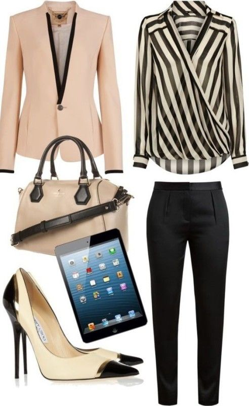 80 Elegant Work Outfit Ideas in 2017  - Are you looking for catchy and elegant work outfits? We all know that there are several factors which control us when we decide to choose something to... -  work-outfit-ideas-2017-70 .