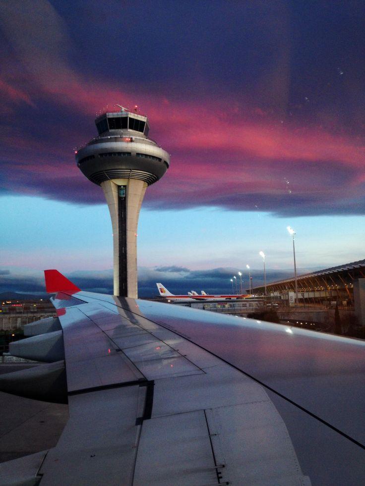 #madrid #airport