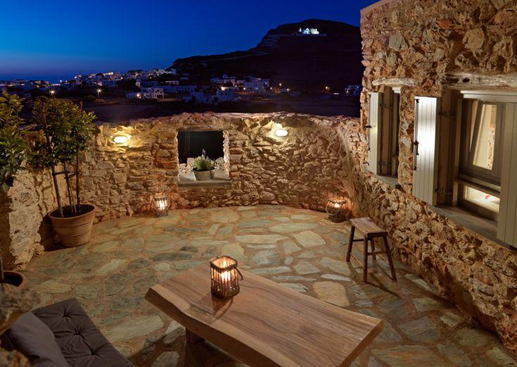 Themonies Suites in Folegandros Greece