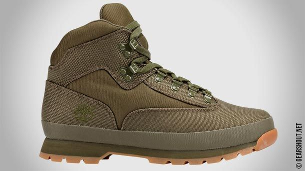 Euro Hiker Cordura - новая версия хайкинговых ботинок от Timberland