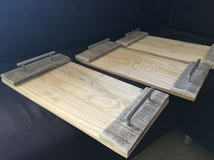 Modern handle tray blanks for chalk paint workshop
