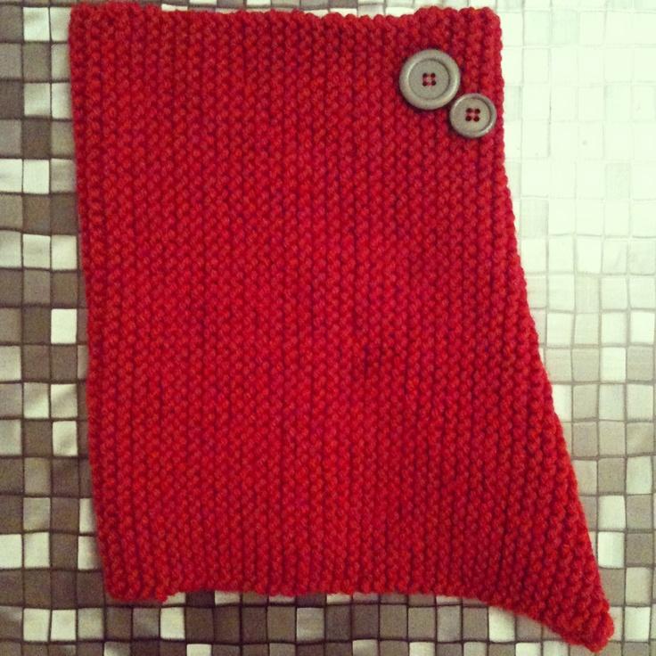 A snood scarf #knitting