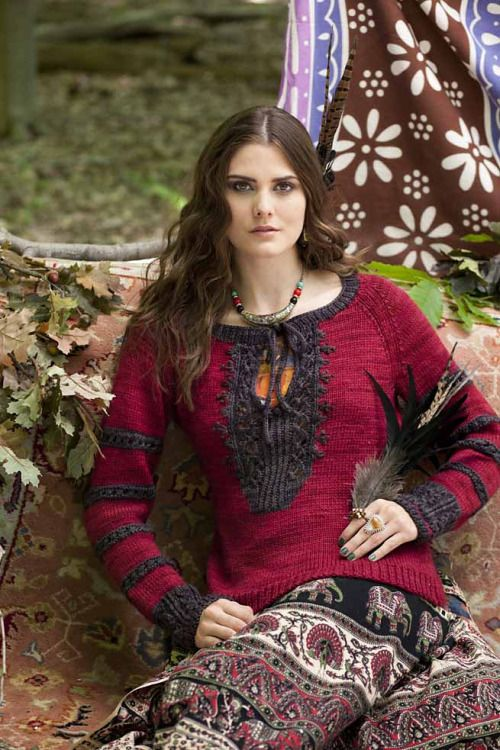 """knitsies:  """" getting-knitfaced:  """" #23 Raglan Pullover by Pat Olski Published in Vogue Knitting, Fall 2014  """"  my mom wants me to knit this for her she has seen the light so its def a possibility  """""""