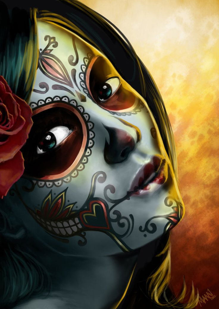Day of the Dead by *LawrenceMann on deviantART