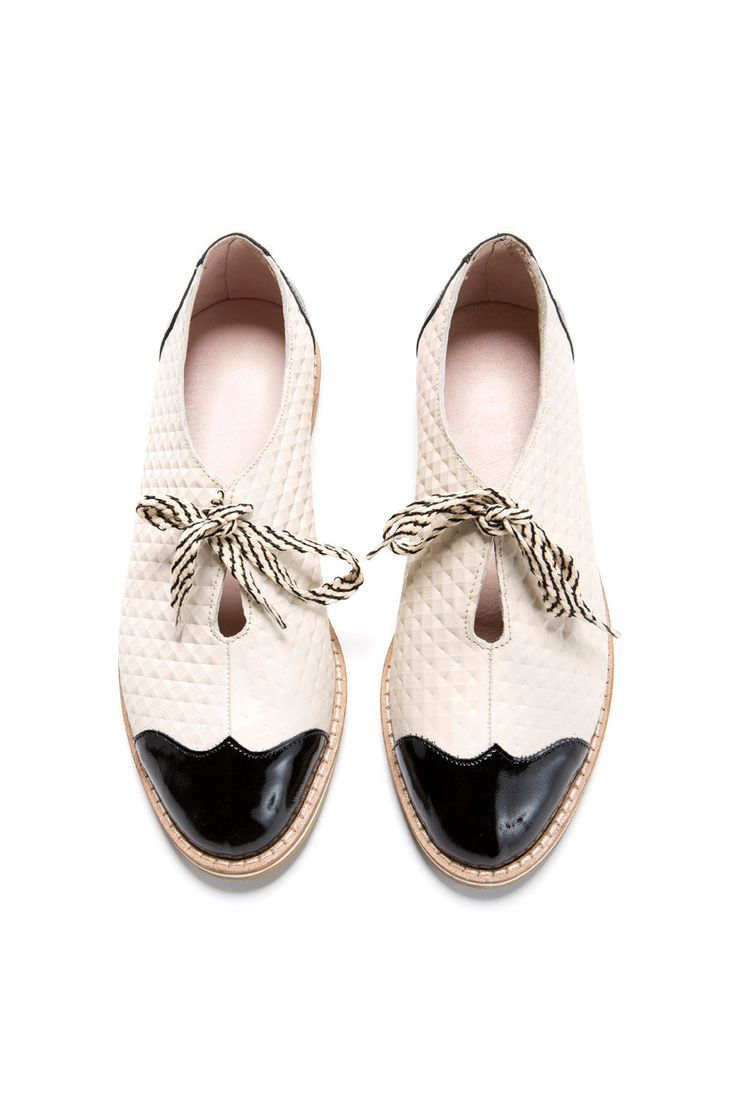 Oxford flache Schuhe HAPPY 2016 SALE 30 % OFF von ImeldaShoes