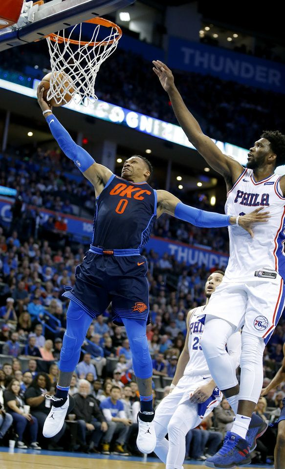 Thunder Vs 76ers Photo Gallery Oklahoma City Thunder Nba Basketball Game The Oklahoman
