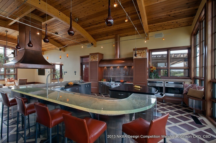 Best Kitchen 1st Place Large Kitchen 39 Raise A Glass 39 By