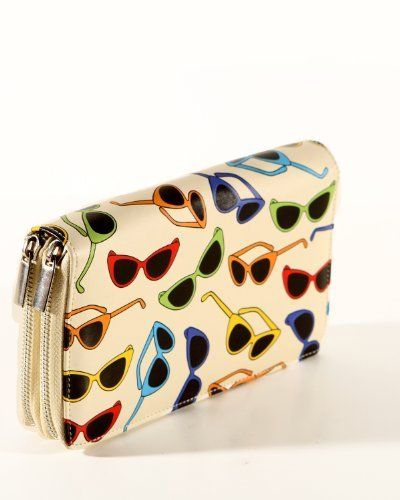 Statement Clutch - Hearts on Acid inverted 3 by VIDA VIDA Q4wHHq