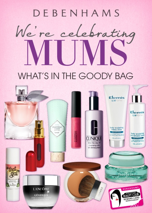 She deserves a fabulous goody bag