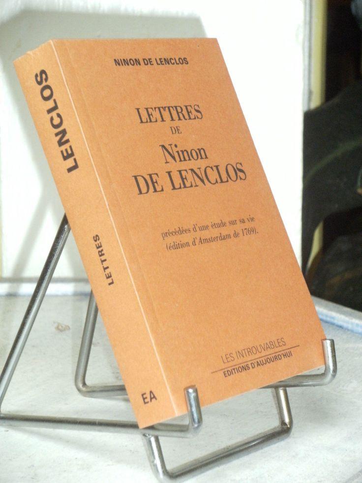 LETTRES DE NINON DE LENCLOS - COLL LES INTROUVABLES - LOUIS XIV | eBay