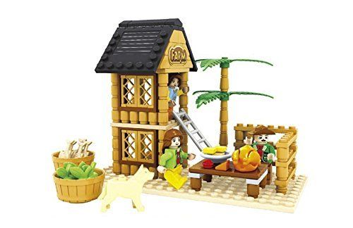 Ausini Come Enjoy In the Farmers Brake Area Building Bricks 173pc Educational Blocks Set Compatible to Lego Parts - Great Gift for Children ** More info could be found at the image url.