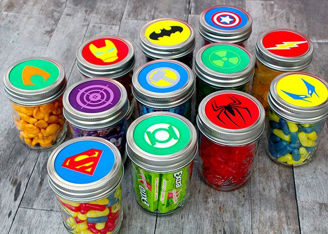 Easy Superhero Father's Day Gift Idea