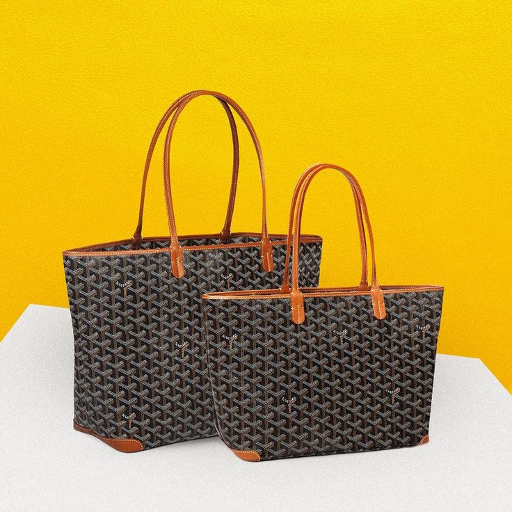Maison Goyard is pleased to introduce the #ArtoisCityToteMM (medium size)  Find out more  about this #NewOffering with an #UrbanEdge that complements the existing #ArtoisCityTotePM (small size) on goyard.com #soon