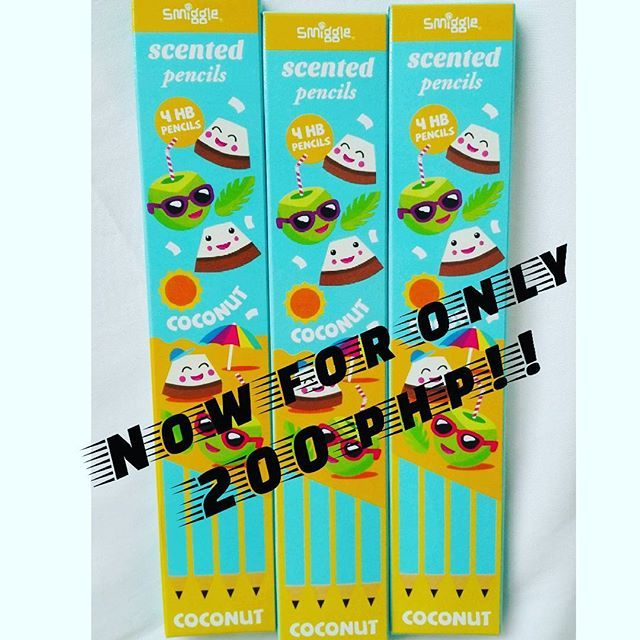200php  Coconut Scented Pencil Super Mega Christmas Sale  Get yours now! Few stocks left! Viber:09959608797 DM: @smiggle_sale_ph FB: Lozada Ann (Smiggle Collections Manila) #smigglecollectionsmanila #smigglesaleph