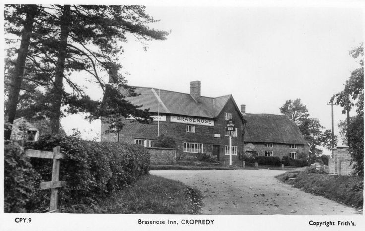 Brasenose Inn Pub Cropredy Nr Banbury unused RP old pc Frith in Collectables, Postcards, Topographical: British, England, Oxfordshire | eBay
