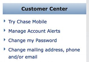Got a Chase Bank credit card? Here's how to set up transaction notifications, whether via email or sms text message. Darn helpful!