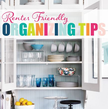 45Renter Friendly Organizing Tips
