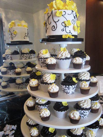 Wedding Dessert Gallery, Gourmet Dessert Diplays, Flavor Cupcakery
