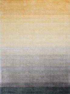 Combination yellow cloak rug