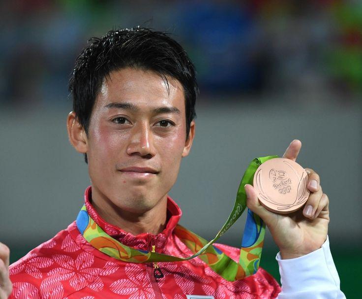 ツアーではない五輪に全力尽くした錦織 植田監督「日本選手の手本」
