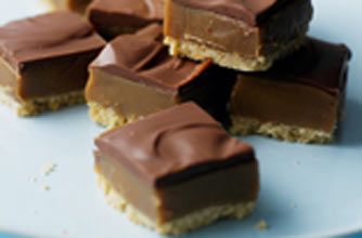What to bake for a school fete - Phil Vickery's Millionaire's shortbread - goodtoknow
