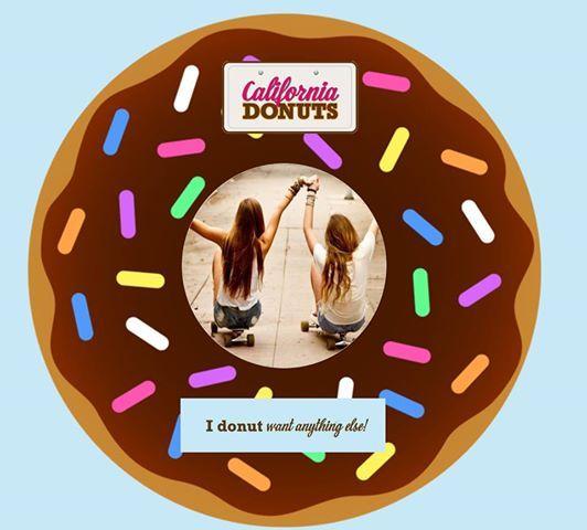 #friends_for_ever Μια φιλία μας ενώνει για πάντα όπως και ένα California Donut! I donut want anything else!