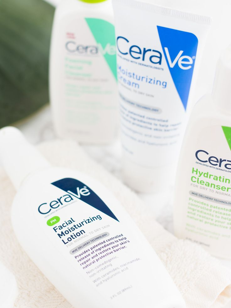 Review CeraVe Moisturizing Cream, PM Lotion, Hydrating Cleanser - firm profile format