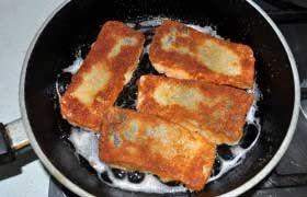 Crispy Pan Fried Trout Fillets recipe