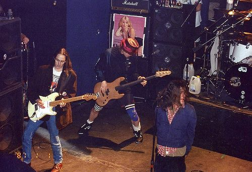 Pearl Jam @ Limelight, NYC 4/12/92 by Hardcore Shutterbug, via Flickr