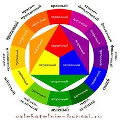 Шпаргалка цветосочетаний. Цветовой круг Иттена.