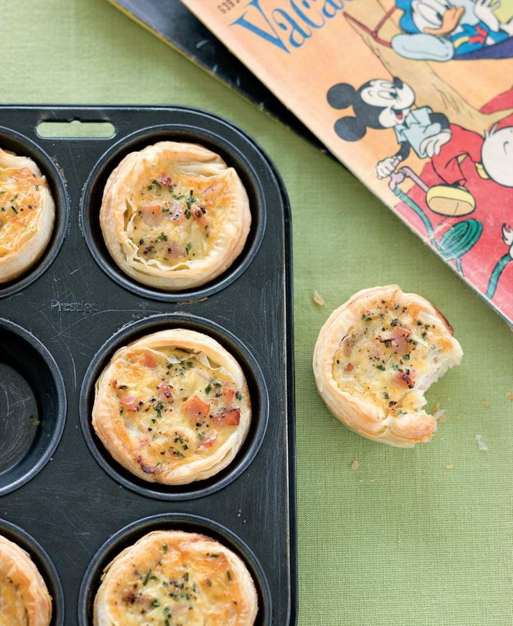 Little egg and bacon breakfast pies by Sabrina Parrini from Little Kitchen | Cooked